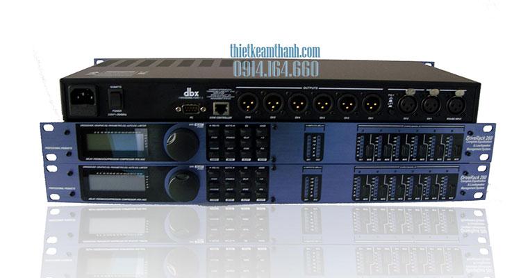 Bộ lọc tín hiệu DriveRack DBX PA260