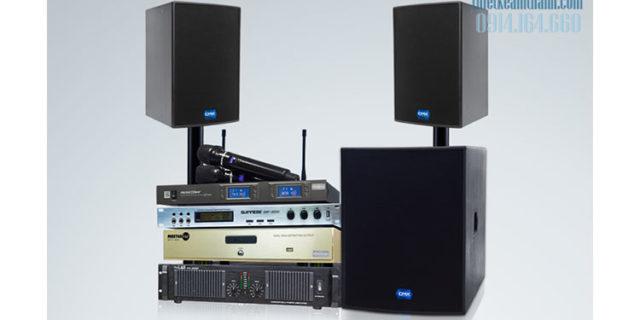 hệ thống âm thanh hội trường quận 2