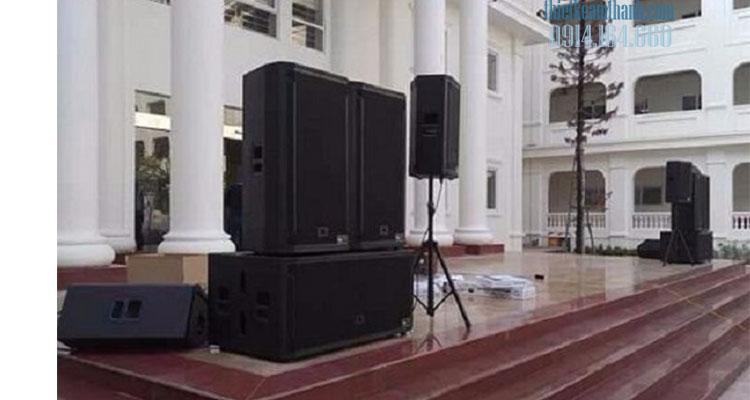 Cho thuê dàn âm thanh sân khấu tại quận 9