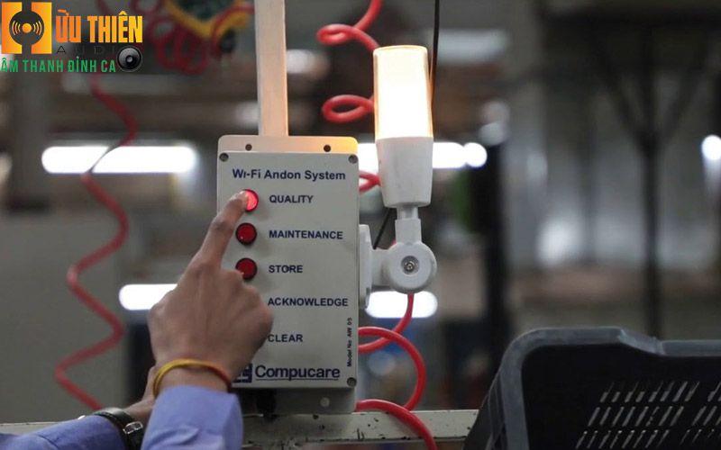 Thiết kế hệ thống andon cho nhà máy