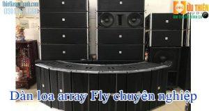Dàn loa array fly