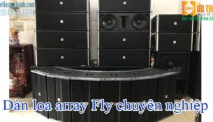 Dàn loa array fly
