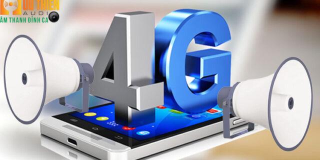 thiết bị thu phát thanh IP 4g